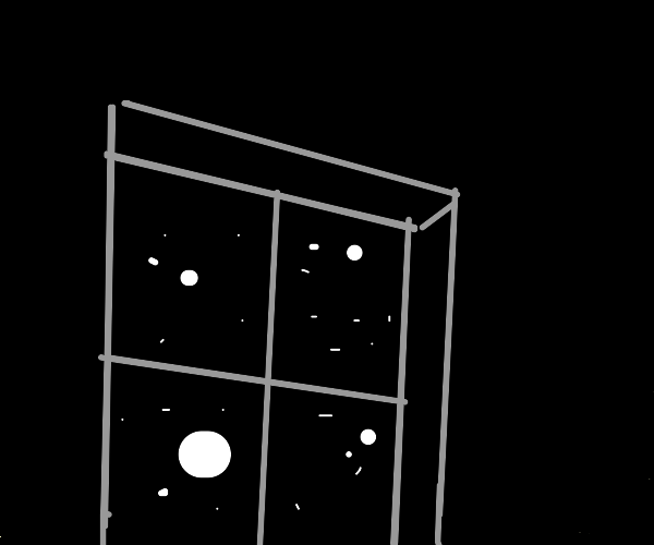 A window in the void