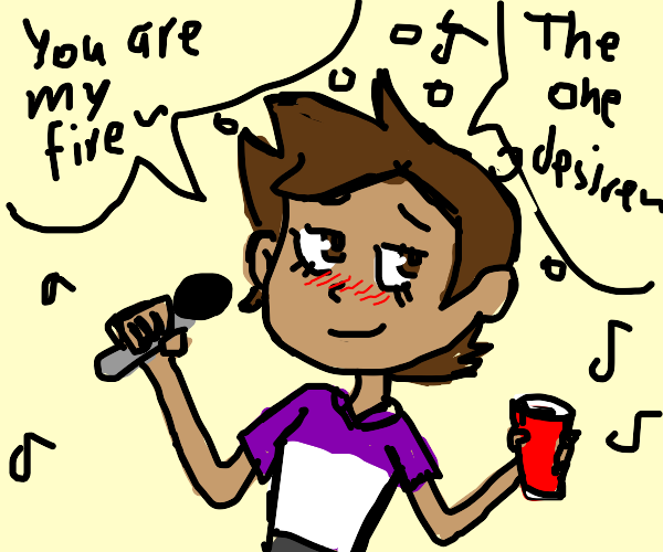 anime kid sings backstreet boys kareoke