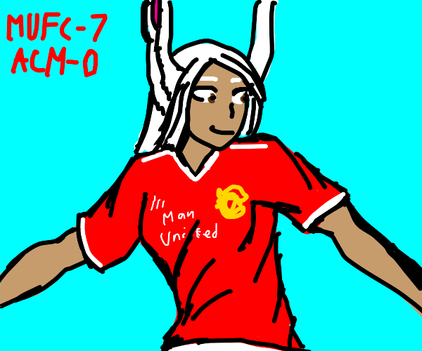 Mirko (mha) has now joined menchester united