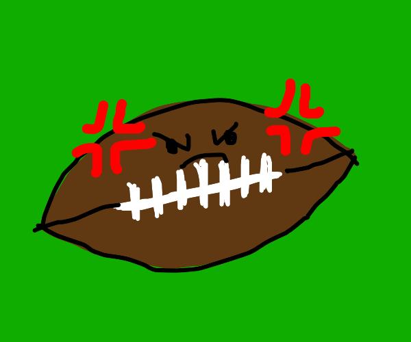 Angry american football