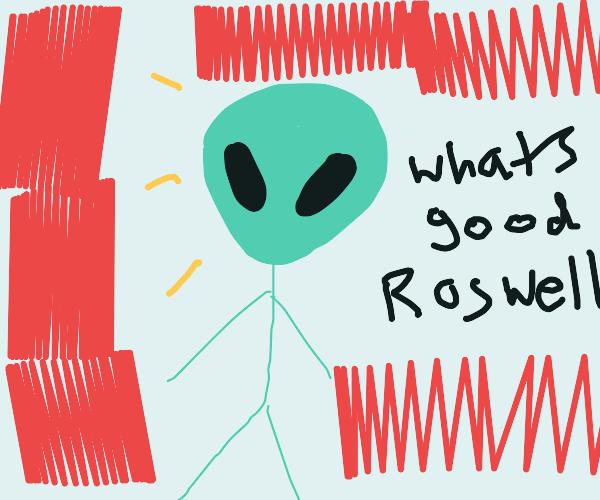 Incredibly Skinny Alien