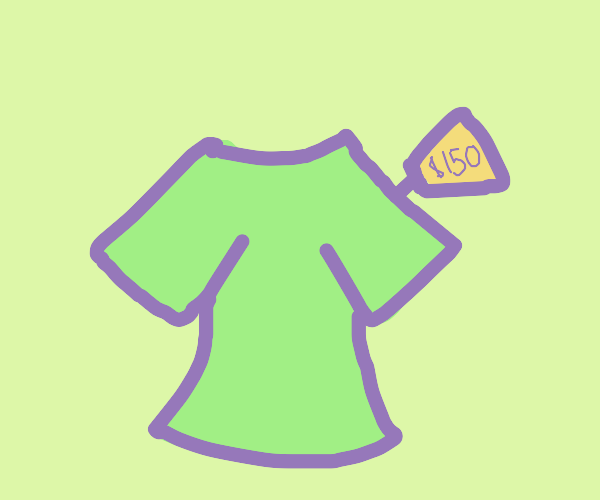 $150 plain green shirt