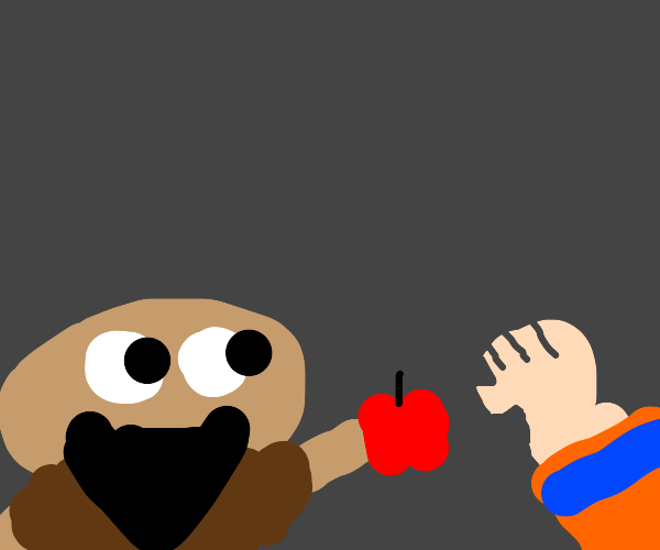 Hobo gives you apples