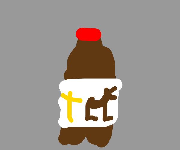 Christian deer soda