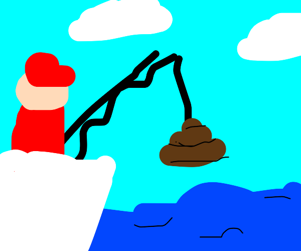 fishing with crap