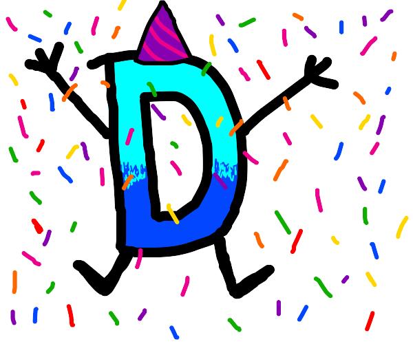 Drawception D celebrates it's birthday