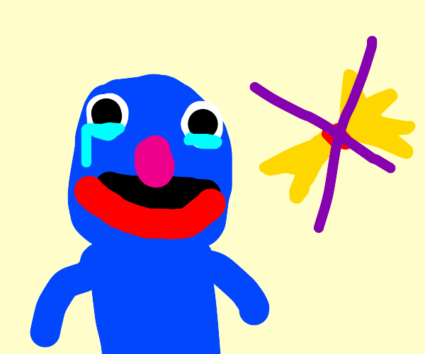 Grover lost his hay (emotional)