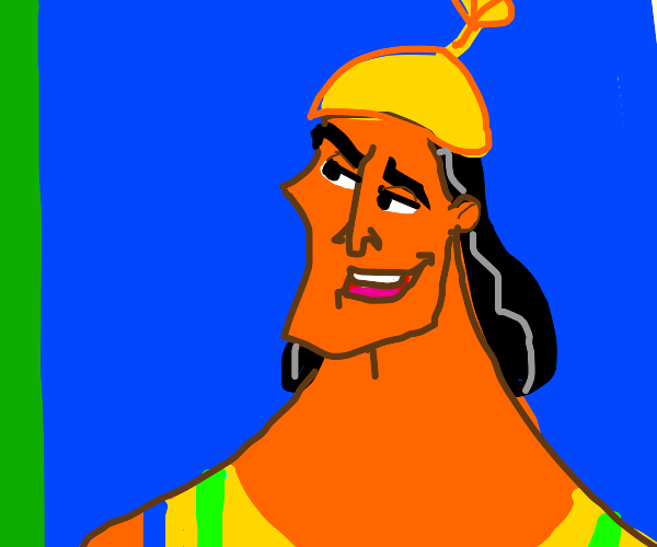 Kronk looking over there