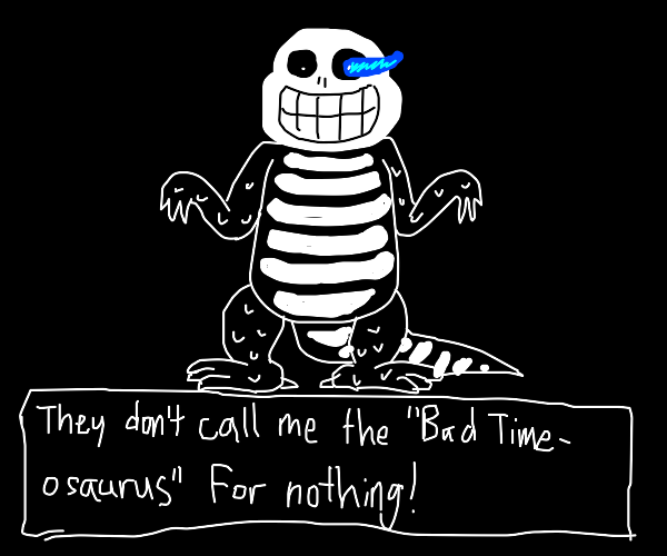 Bad time-osaurus