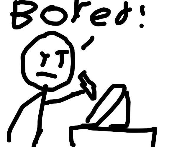 Bored animator