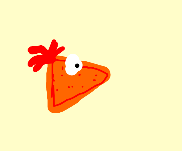 Phineas Flynn as a Dorito chip
