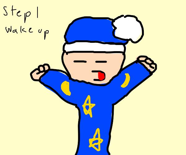 Step 2: go back to sleep