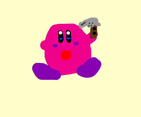 kirby  wants to kill himself