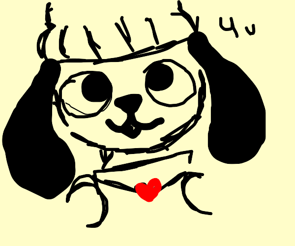 Parappa gives you a love letter