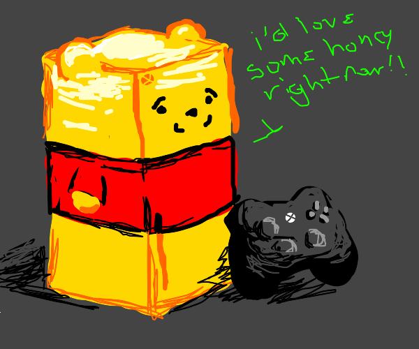 Xbox Winnie the pooh wants honey