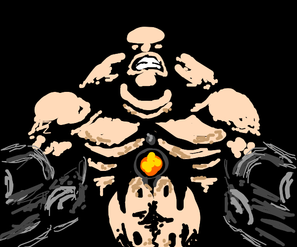 The mancubus from DOOM