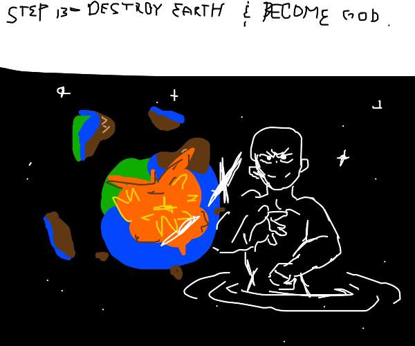 Step 12: Magic = World Domination