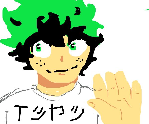 Green Japanese Man