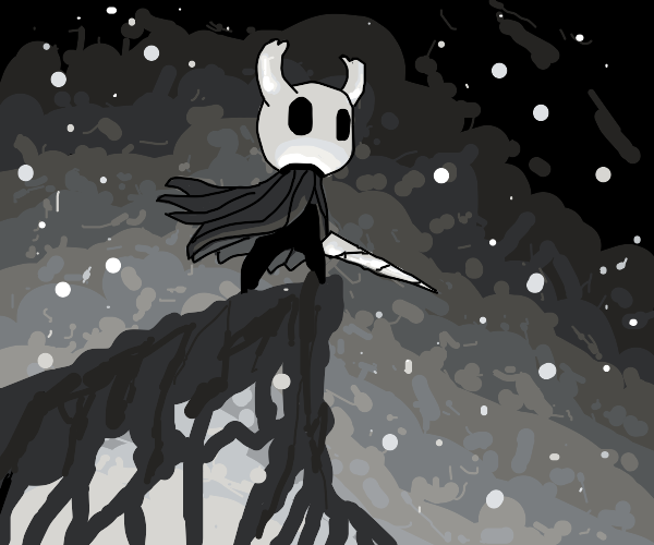 The knight from hollow knight