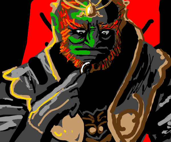 Ganon's one weakness is oreos