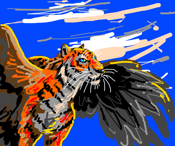 A Tiger with Wings