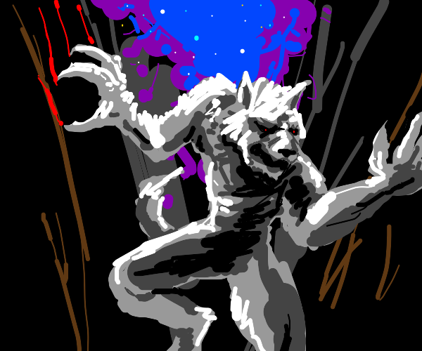 white werewolf