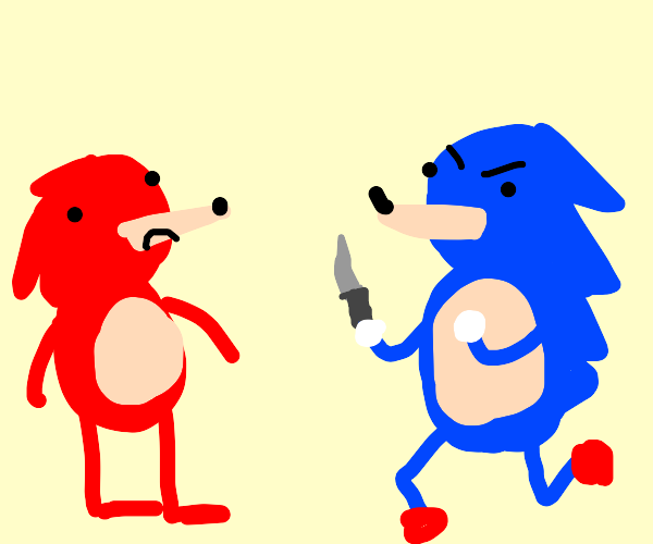 Sonic has to kill knuckles