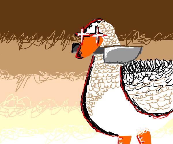 Killer goose