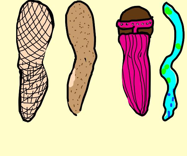 varying legs