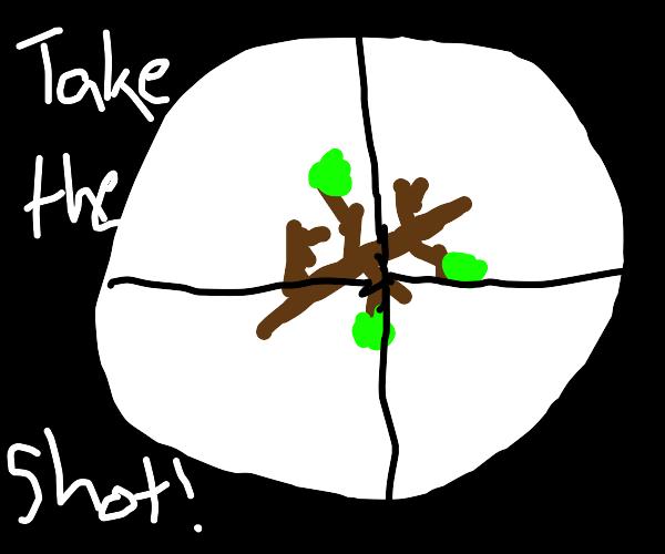 Assassinate the stick, take the shot
