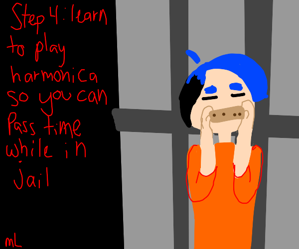 Step 3: Get incarcerated for trespassing