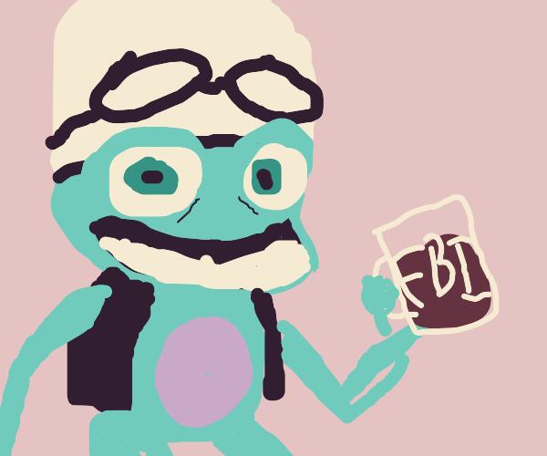 Crazy frog says FBI is beer