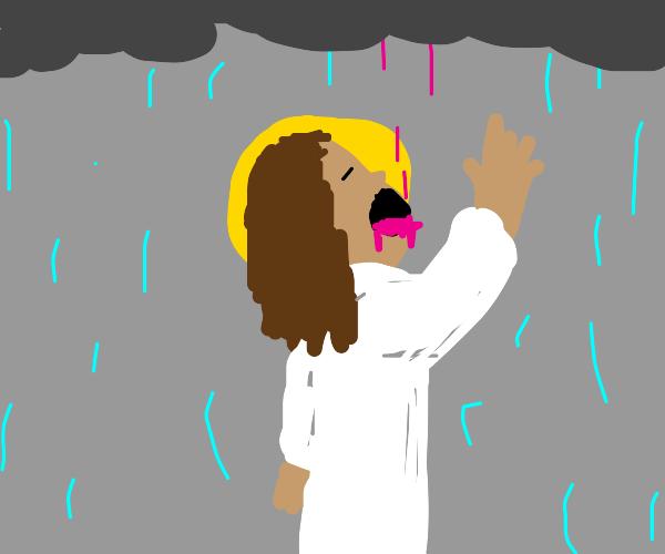 Jesus is drunk