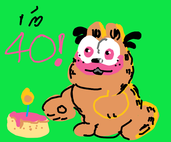 Garfield birthday