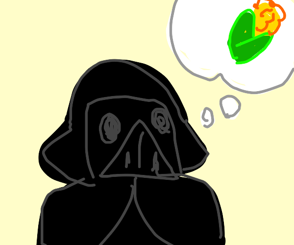 darth vader thinks about corn