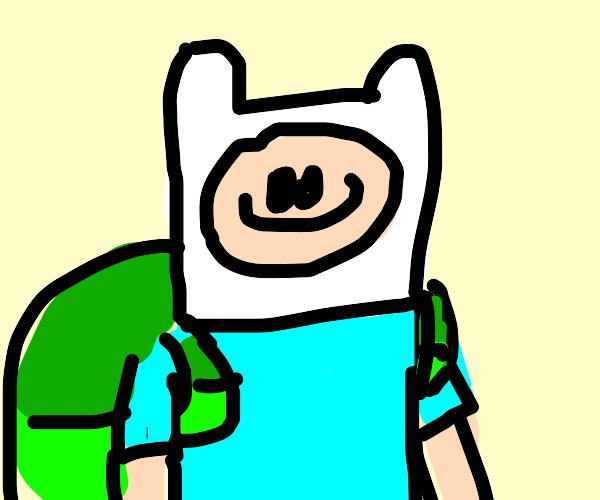 Finn from adventure time