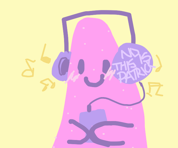 Patrick listens to a DJ Quicksilver song