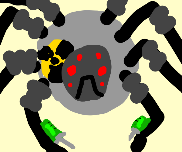 nuclear spider robot