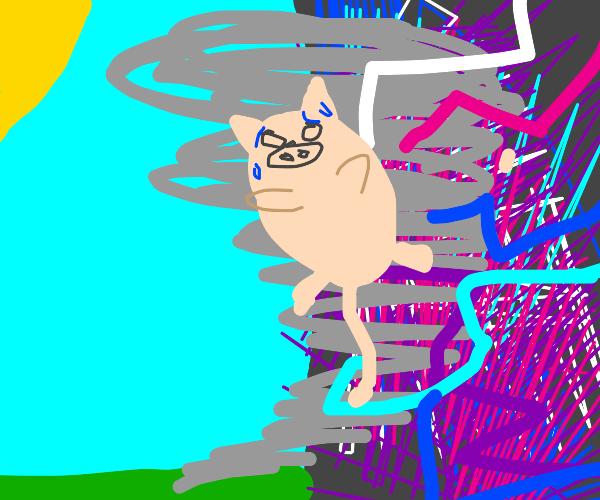 pig stuck in a multi-dimensional tornado