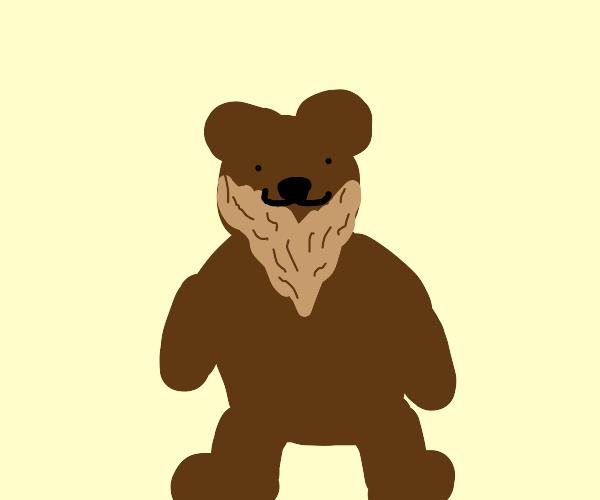 Bear w/ beard