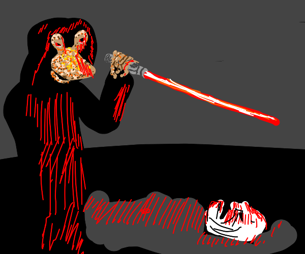 Jar Jar Binks kills Palpatine and takes over