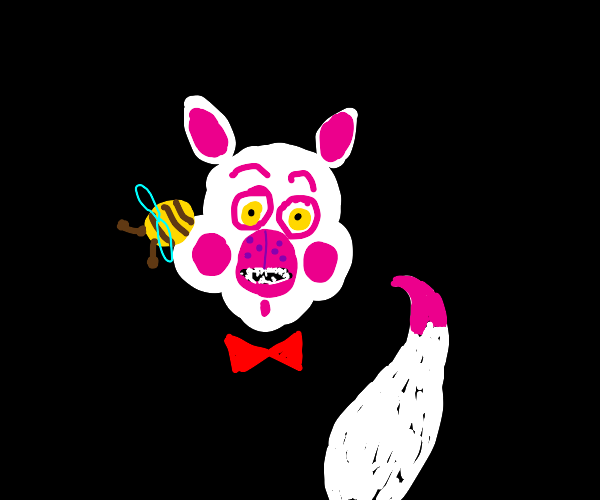Bee Landed on Funtime Foxy