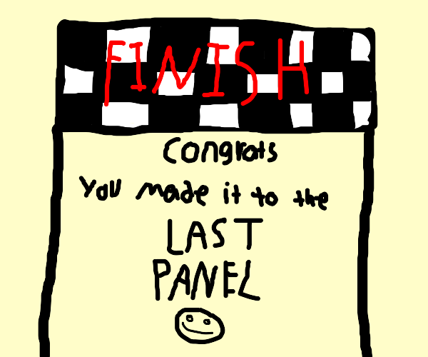 This is the last panel i guess