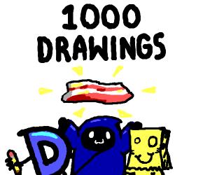 ByAnyOtherName's 1000 Drawings