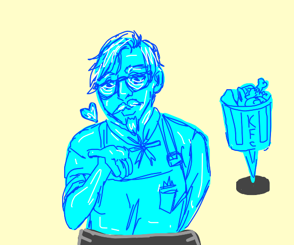 holographic Colonel Sanders