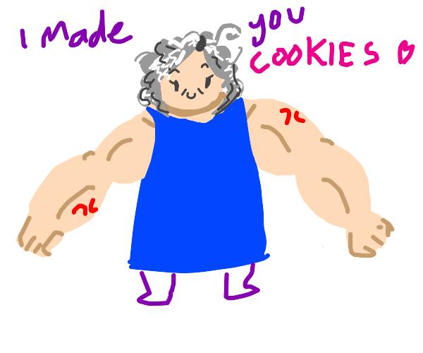 Steroid grandma