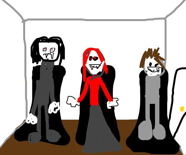 Room full of vampires
