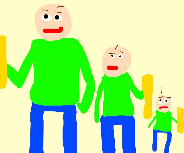 Baldi and his kids
