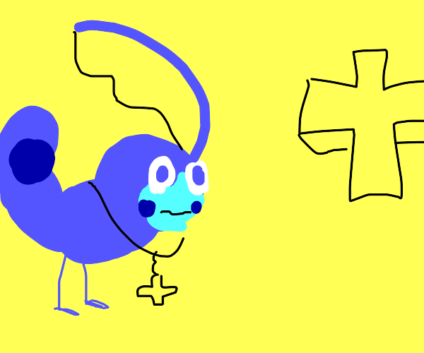 Sobble converts to Christianity