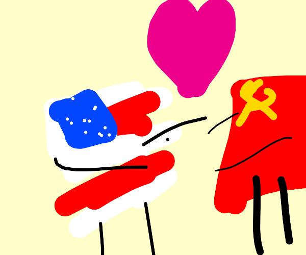 Countryhumans USA x USSR